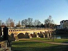 Liste de ponts des yvelines wikip dia for Piscine de meulan