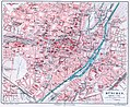 Meyers Konversationslexikon - Karte München 1906.jpg