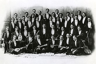Ohio State University Men's Glee Club - Men's Glee Club circa 1892