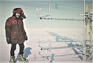 Plateau Station -  Plateau Station Micro Meteorology Tower 1969.