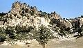 Midasşehri 09 1991 Yazılıkaya-Plateau vulkanische Tuffe.jpg
