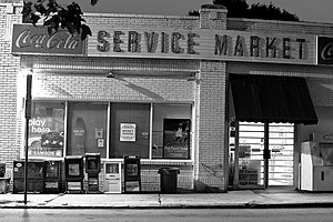 Midtown Historic District (Atlanta) - A market in the historic district