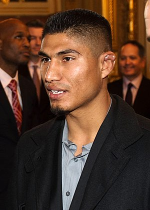 Mikey Garcia - Garcia at the United States Capitol, 2014
