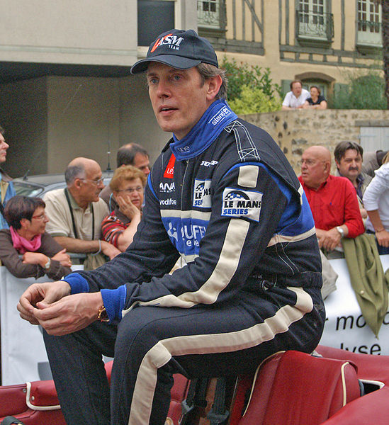 Miguel Amaral, One of the drivers of Ginetta 09/S2 - Zytek (No. 40) for Quifel - ASM Team Drivers' Parade Le Mans 2009