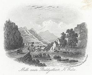 Mill near Beddgellert, N. Wales