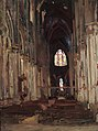 Milly Childers - Reims Cathedral, France, 1914.jpg
