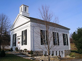 Milton Center Historic District - Milton Congregational Church