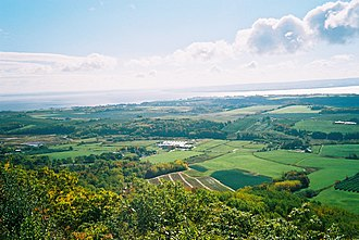 Kings County, Nova Scotia - Eastern Kings County from the Lookoff