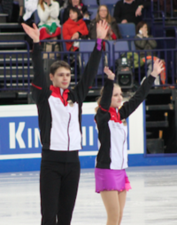 Minerva Fabienne Hase and Nolan Seegert in 2017.png