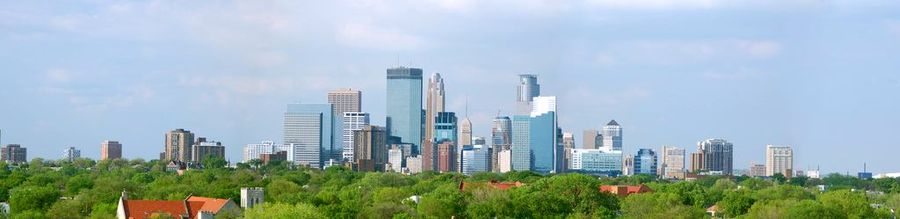 Minneapolis skyline-20070805