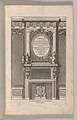 Miscellany of 17th-century Ornament Print Series- Examples of Antique Chimneypieces, Cabinets, Gueridons, Tables and Mirrors, in addition to Italian Church Facades, by illustrious architects, or a sequel to S. Bosboom MET DP-12235-060.jpg