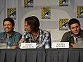 Misha Collins, Jared Padalecki & Jensen Ackles (4852588530).jpg