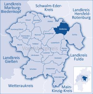 Grebenau - Image: Mittelhessen Vogelsberg Greb