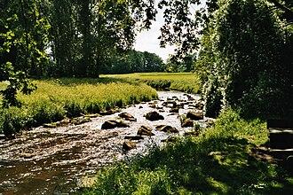 Hümmling - The Mittelradde, one of the rivers in the Hümmling