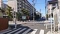 Mizukusa Danchi Minami Intersection 20200325-02.jpg