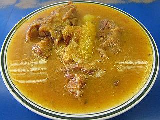 <i>Sopa de mondongo</i> Spanish-origin dish