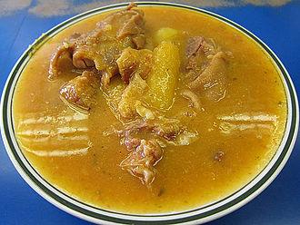 Dominican Republic cuisine - Mondongo beef tripe soup