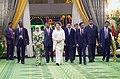 Mohammad Mosaddak Ali along with Prime Minister of Bangladesh Begum Khaleda Zia met with Sultan of BruneiHaji Hassanal Bolkiah Mu'izzaddin Waddaulah at Brunei Palac.jpg