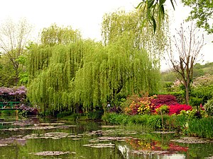 Monet garden in Giverny, Eure, France