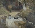 Monet-Le déjeuner panneau decorative-1874.png