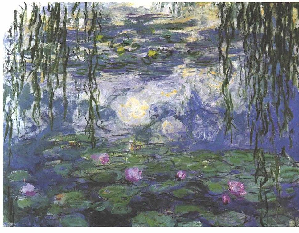 Monet - Seerosen5