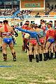 Mongolskie zapasy na stadionie w Ułan Bator 04.JPG