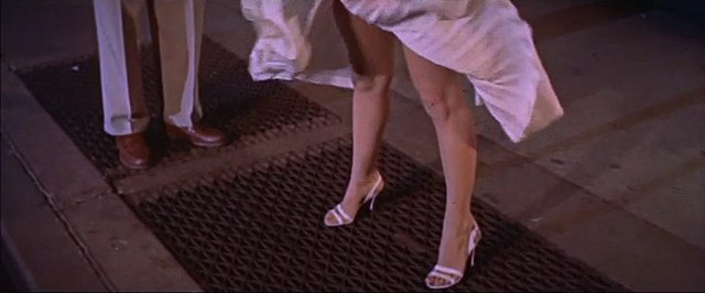 Monroe%27s skirt blows up in The Seven Year Itch trailer 1.jpg