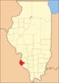 Monroe County Illinois 1827.png