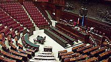 Palazzo montecitorio wikipedia for Aula di montecitorio