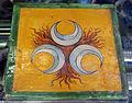 Montelupo, matonella con emblema strozzi, 1590-1610 ca..JPG