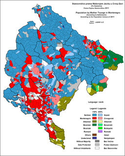 Languages of Montenegro languages of a geographic region