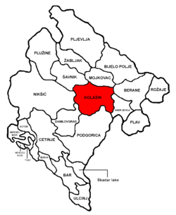Kolašin Municipality in مونٹینیگرو