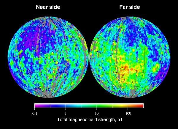 Magnetic field of the Moon - Wikiwand