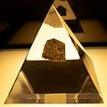Moon rock brought back by Apollo 17, at SpaceExpo ESTEC 1.jpg