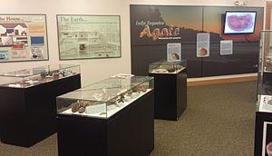Moose Lake State Park - Agate/Geological Interpretive Center Exhibit