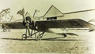 Morane-Saulnier H - Royal Flying Corps Morane-Saulnier H built by Grahame-White