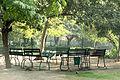 Morning scene of sitting area inside Law Garden.jpg