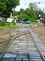 Moscow, Ugreshskaya Street tram and rail crossing (19).jpg