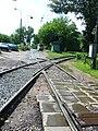 Moscow, Ugreshskaya Street tram and rail crossing (20).jpg