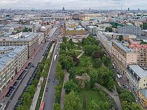 Staraya Square - Aerial view