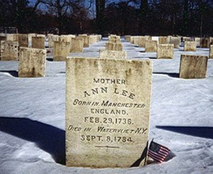 Ann Lee - Mother Ann Lee tombstone