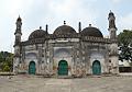 Motijhil Jama Masjid Facade - Lalbagh - Murshidabad 2017-03-28 5802-5805.tif
