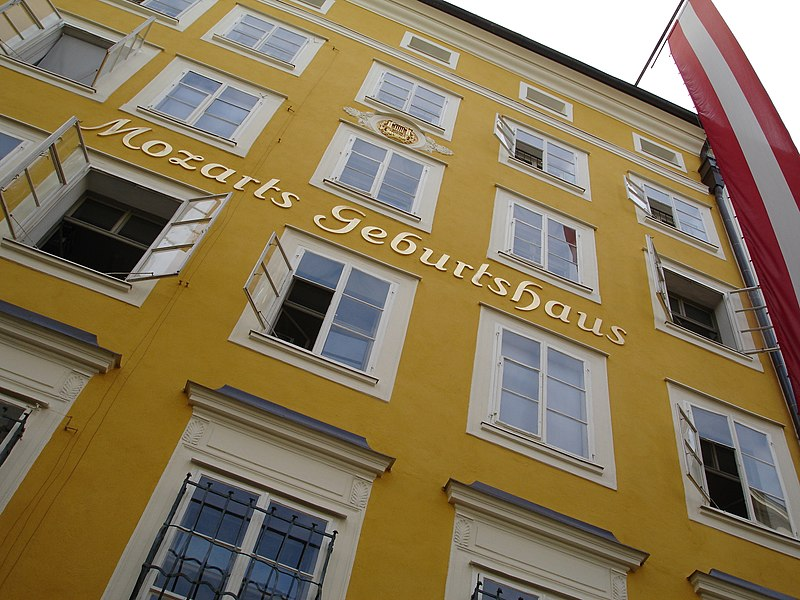 Mozart's birthplace and home