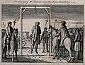 Mr. Mantle is hung on a gibbet with the rope breaking under Wellcome V0041799.jpg