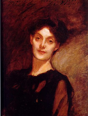 J. Comyns Carr - Mrs. J. W. Comyns Carr, John Singer Sargent, c. 1889