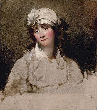 Elizabeth Inchbald - Image: Mrs Joseph Inchbald, by Thomas Lawrence