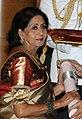 Ms. Sabitri Chatterjee, receiving Padma Shri, in 2014 (cropped).jpg
