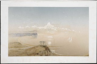 Mt Cook, Greenstone country, Middle Id. [1846]