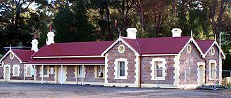 SteamRanger Heritage Railway - Mount Barker station in August 2007