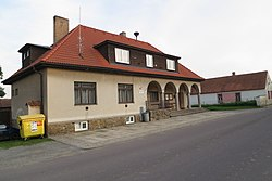 Municipal office in Kdousov, Třebíč District.JPG